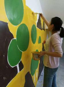 峨眉山大卫早教教室壁画