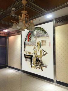 成都大喜川菜馆墙绘